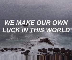 quotes, luck, and grunge image