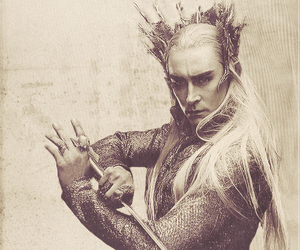 draw, lee pace, and the hobbit image