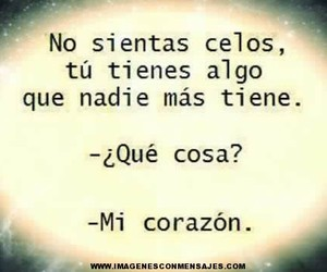 amor, frases, and corazon image