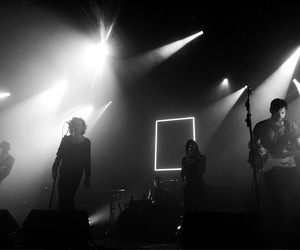 b&w, concert, and cool image