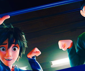 brother, fist bump, and big hero 6 image