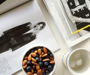 magazine, fashion, and blueberry image