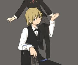 akane, durarara!!, and heiwajima shizuo image