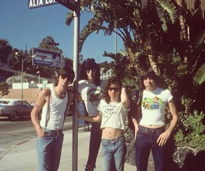 70s, rock, and street image