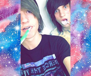 johnnie, kyle, and johnnie guilbert image
