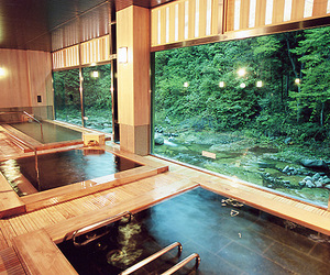 japan and onsen image