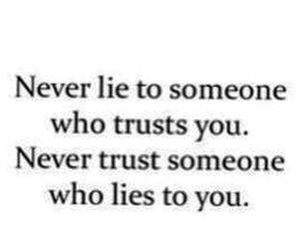 trust, lies, and life image