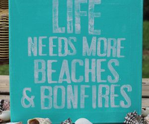 beaches, sand, and bonfires image
