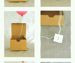 diy, gift, and balloons image