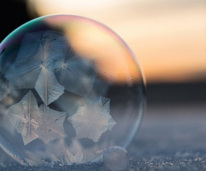 breathtaking, bubbles, and frozen image