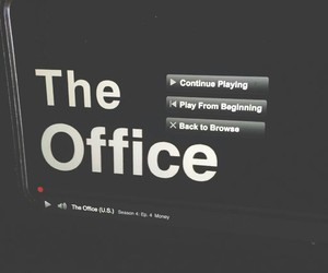 dwight schrute, jim and pam, and office image
