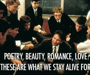 alive, dead poets society, and life image