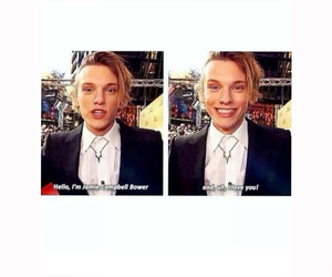 actor, Jamie Campbell Bower, and premiere image