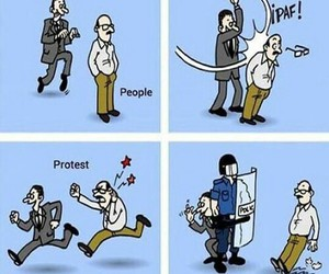 protest, government, and funny image