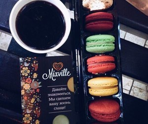 coffee, eat, and pretty image