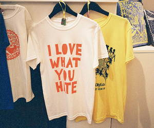 hate, shirt, and t-shirt image