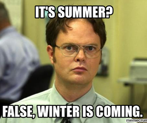 summer, got, and winter is coming image