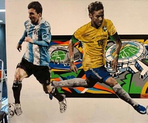 messi and neymar jr image