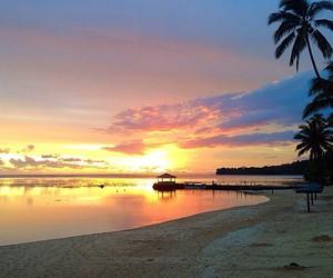 beach, beautiful, and fiji image
