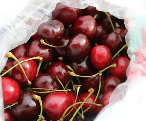 cherries and summer image