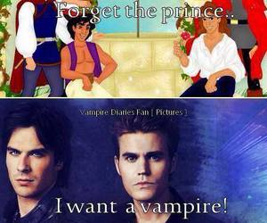 vampire, ian somerhalder, and paul wesley image