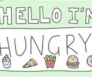 hello, hungry, and tumblr image