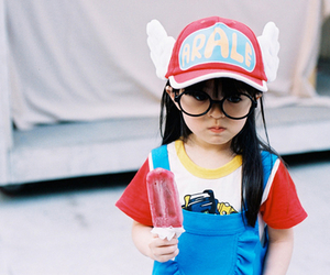 cute, arale, and cosplay image