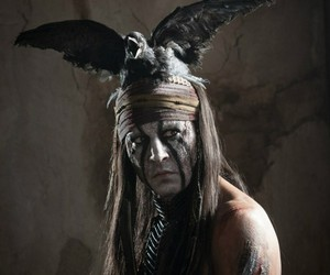 johnny depp, the lone ranger, and movie image