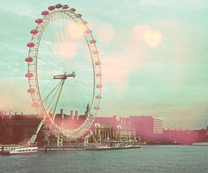 city, london, and vintage image