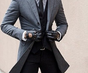 style, suit, and man image