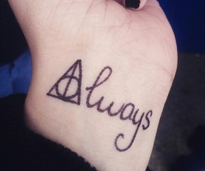 always, harry potter, and tatoo image