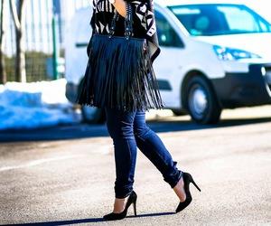 aztec, boho, and fashion blogger image