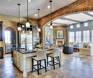 dining room, luxury home, and home image
