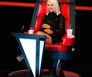 christina aguilera and the voice image