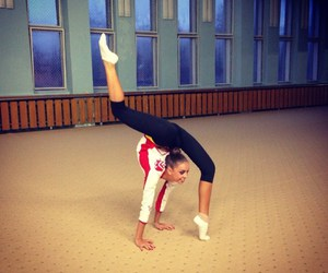 flexible, gymnastics, and rhythmic image