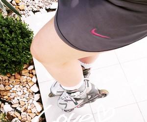 rollerblade, skating, and inline image