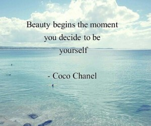 be yourself and beauty image