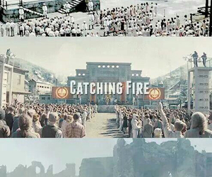 catching fire, mockingjay, and Jennifer Lawrence image