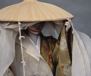 geisha, japanese, and japan image