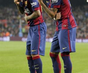 neymar, Barca, and dani alves image