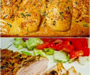 délicieuse, Chicken, and food image