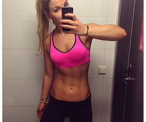 abs, healthy, and sexy image