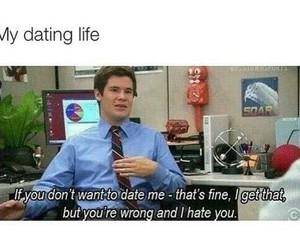 dating life, funny, and haha image