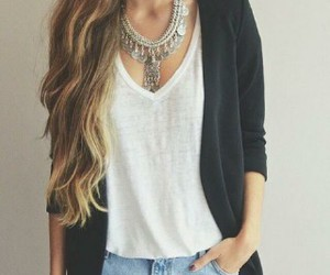 accessories, hairstyle, and brunette image