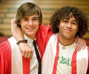 zac efron, high school musical, and Chad image