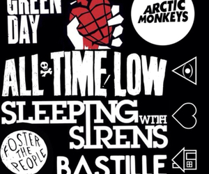 all time low, arctic monkeys, and bands image