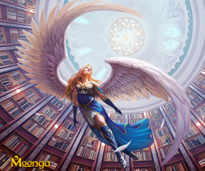 fantasy, warrior, and wings image