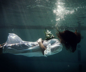 grunge and water image