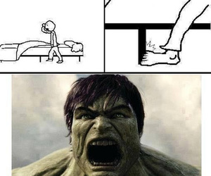 funny, lol, and Hulk image