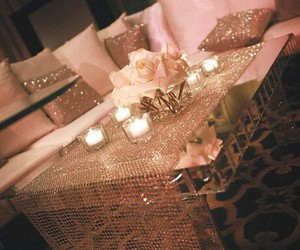 luxury, decor, and pink image
